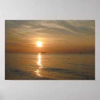 Nascer do sol de Miami Beach Impressão