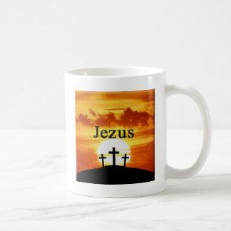 Nascer do sol Jezus do calvário Caneca
