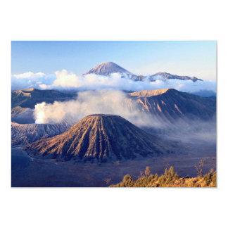 Nascer do sol na montagem Bromo, Java, Indonésia Convites Personalizado