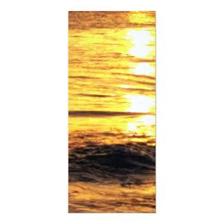 Nascer do sol na piscina convite personalizado