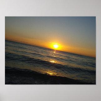 """""""Nascer do sol poster de Miami"""""""