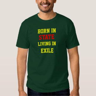 NASCER EM (personalize com seu estado de origem) Camisetas