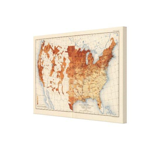 Nascer estrangeiro de 62 proporções impressão em tela canvas