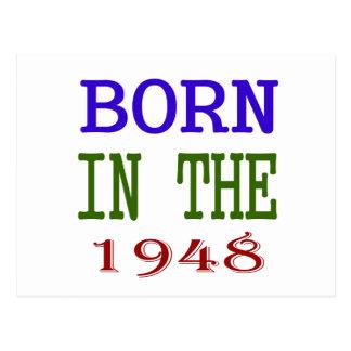 Nascer no 1948 cartão postal