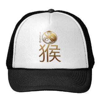 Nascer no ano 1956 do macaco - astrologia chinesa boné