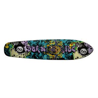 Nascer para montar a velha escola skateboard