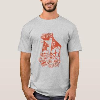 Nascido & produzido em Belfast Camiseta