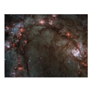 Nascimento da estrela em 83 mais messier cartão postal