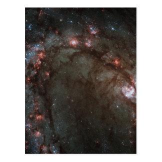 Nascimento da estrela em 83 mais messier cartoes postais