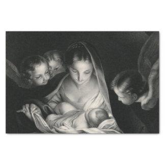 Nascimento da natividade da Virgem Maria dos anjos Papel De Seda