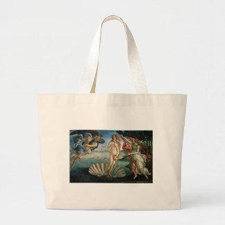 Nascimento de Venus por Botticelli Bolsa Tote Grande