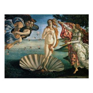 Nascimento de Venus por Botticelli Cartão Postal