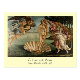 Nascimento do cartão de Venus Cartão Postal