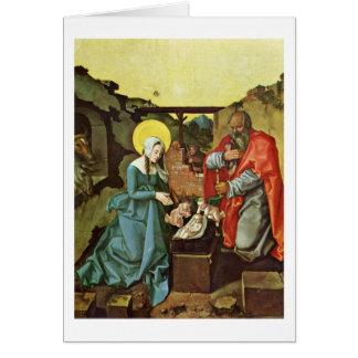 Nascimento do cristo por Hans Baldung Cartão Comemorativo