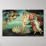 Nascimento do poster de Venus