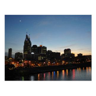 Nashville do centro, Tn - cartão