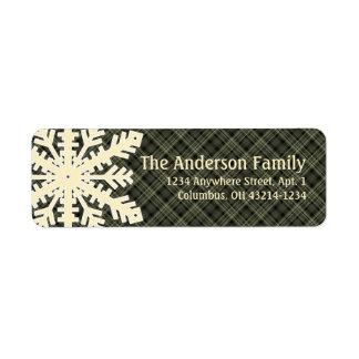 Natal 1: Etiquetas de endereço do remetente do