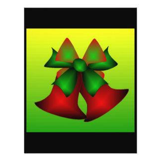 Natal Bels Panfleto Personalizado