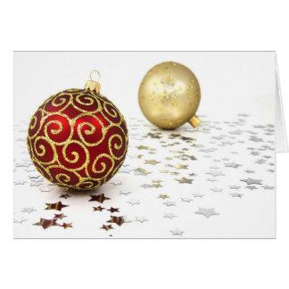 Natal Buon Natale II Cartão Comemorativo