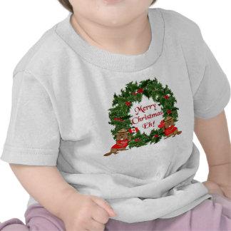 Natal canadense tshirt