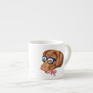 Natal, cão de labrador retriever caneca de café
