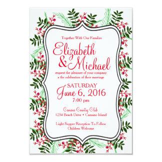 Natal, convite do casamento do feriado