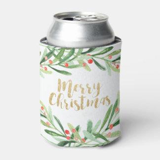 Natal da grinalda do azevinho porta-lata