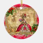 Natal de Marie Antoinette em Versalhes Ornamento Para Arvores De Natal