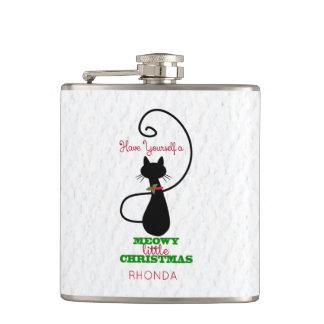 Natal de Meowy, gato bonito do feriado Cantil