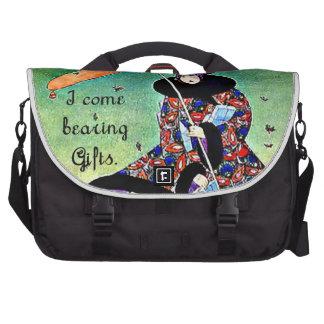 Natal do art deco maletas para notebooks