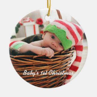 Natal do bebê o ø - enfeites de natal
