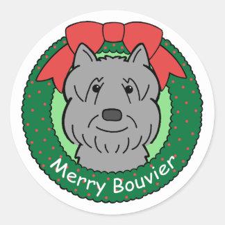 Natal do DES Flandres de Bouvier Adesivo