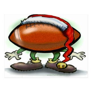 Natal do futebol cartão postal