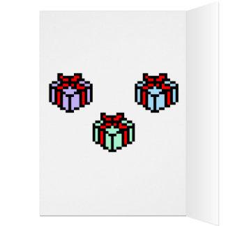 Natal do geek cartão comemorativo