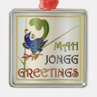 Natal do Mah Jongg um ornamento do Bam