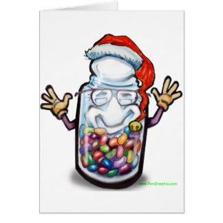 Natal dos contadores de feijão cartões