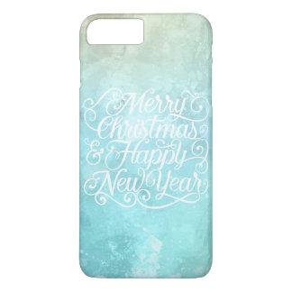 Natal elegante e capa de telefone do ano novo |