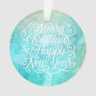 Natal elegante e ornamento do ano novo |