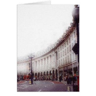 Natal em Londres Cartão De Nota
