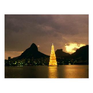 Natal em Rio de Janeiro Brasil Cartão Postal
