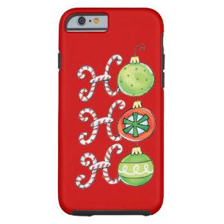 Natal engraçado capa tough para iPhone 6