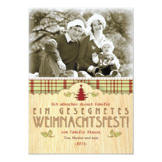 Natal Foto-Karte cartão
