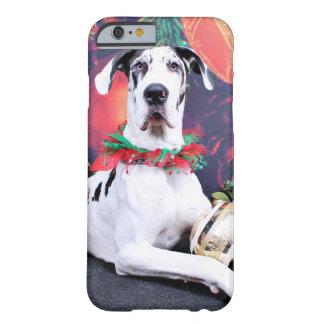 Natal - Harlequin great dane - Baron Capa Barely There Para iPhone 6