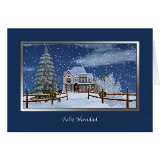 Natal, língua espanhola, Feliz Navidad Cartões