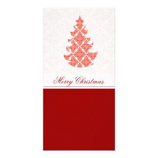 Natal luxuoso extravagante cartão