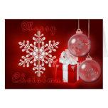 Natal maravilhoso cartao