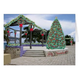 Natal no cartão do porto