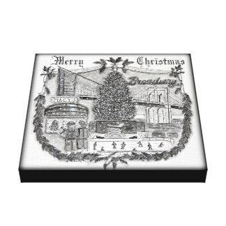 Natal no impressão das canvas X12 de New York 12