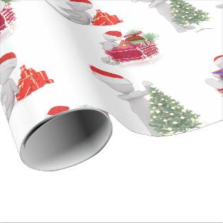 Natal Papel De Presente