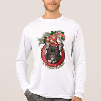 Natal - plataforma os salões - Frenchies - cerceta Camiseta